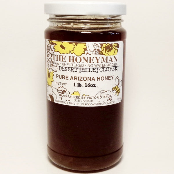Arizona Raw Honey, Desert Blue Clover
