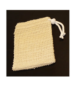 Sisal Natural Soap Pouch (Set of 2)