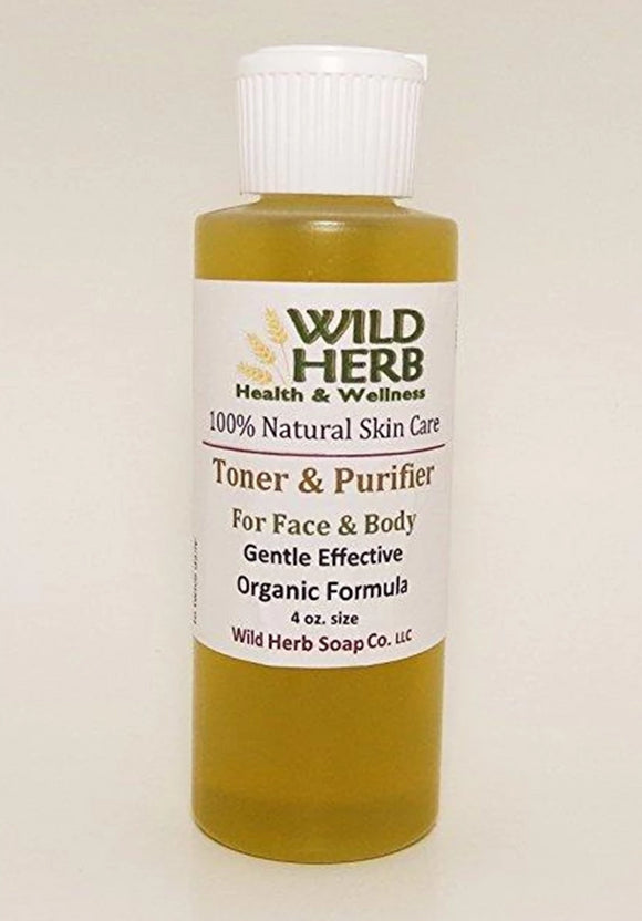 Toner and Purifier (with Hemp, Tea Tree & more)