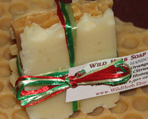 Christmas Soap Packet, Honey