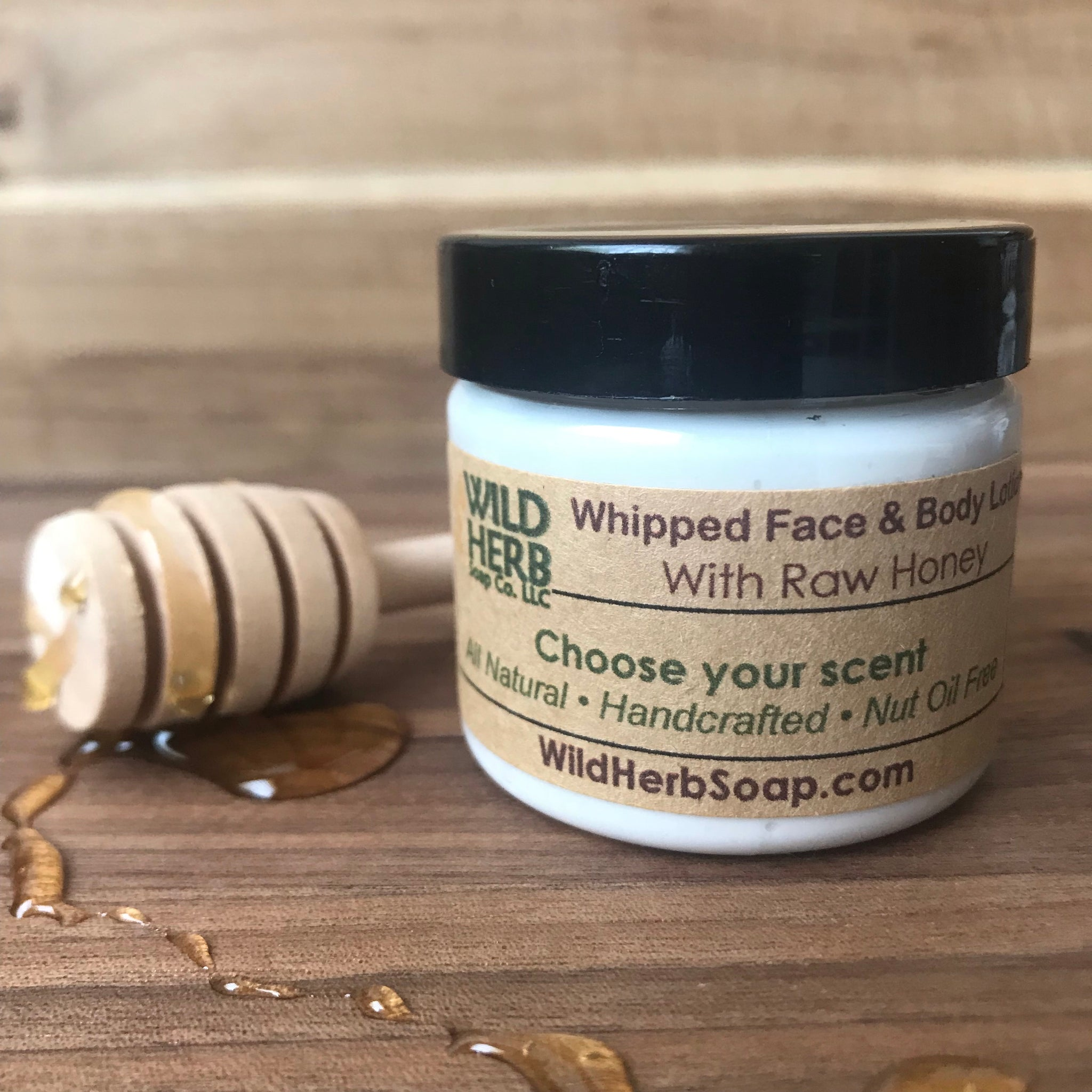 Lotion - Whipped Honey (2 oz)