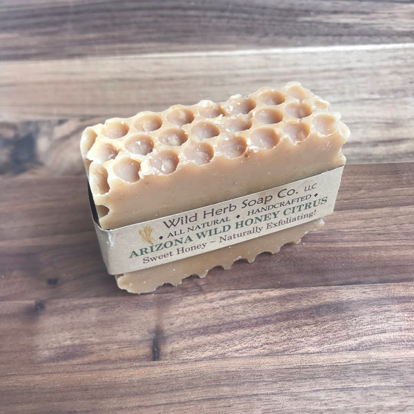 Arizona Wild Honey Citrus Natural Soap Bar