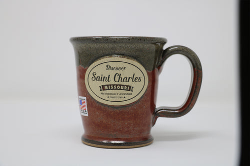 Stoneware Mug - Morning Rambler - Brick Red