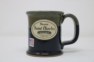 Stoneware Mug - Executive Slim - Deep River Haze