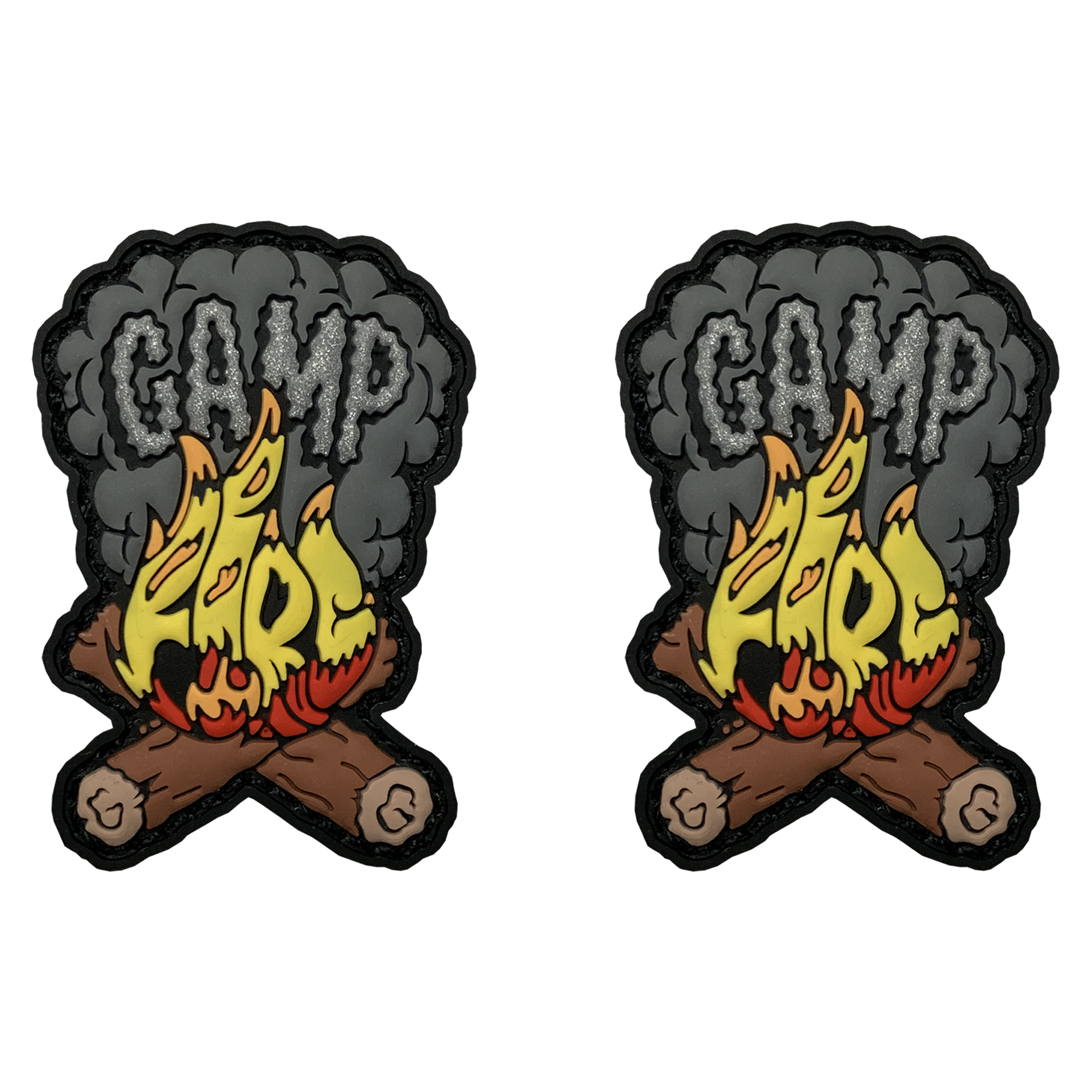 Camp Fire Logo Minis