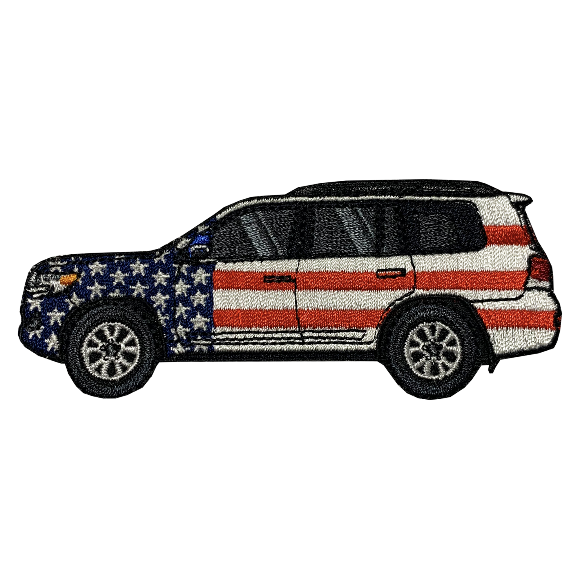 200 Series Land Cruiser Patriotic Patch