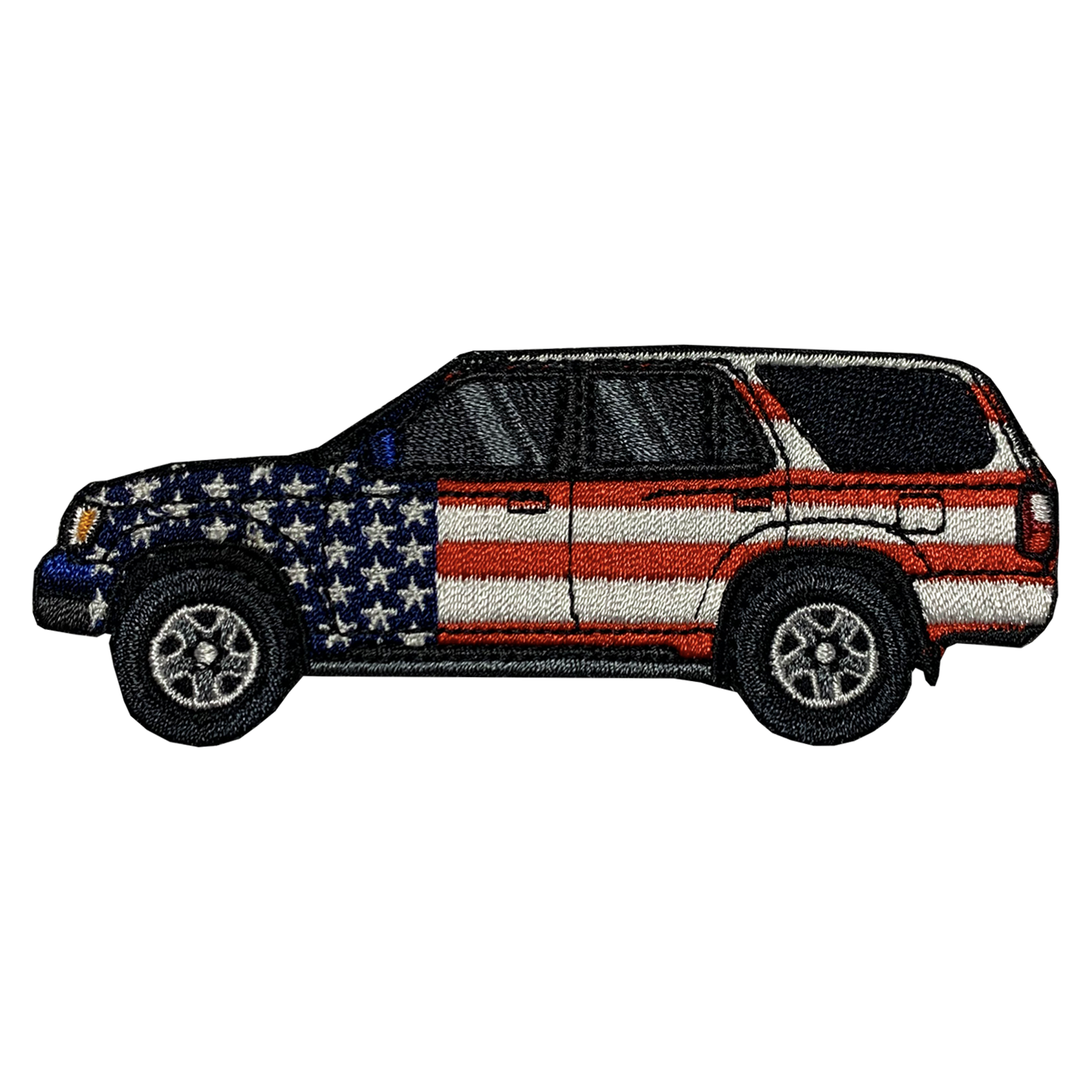 4Runner 3rd Gen Patriotic Patch