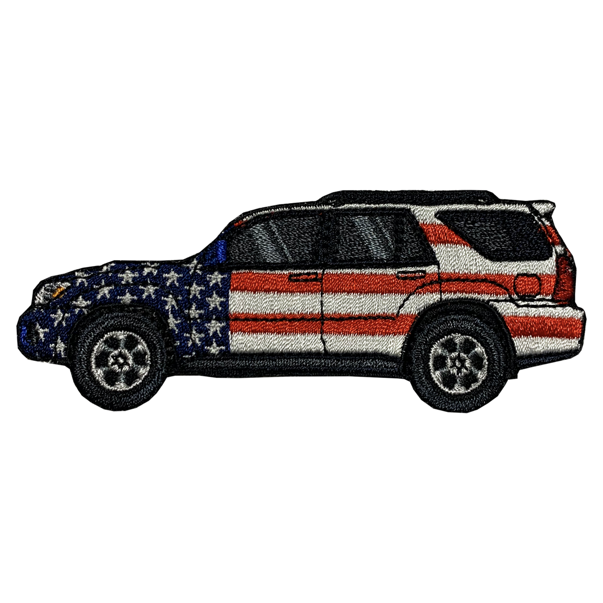 4Runner 4th Gen Patriotic Patch