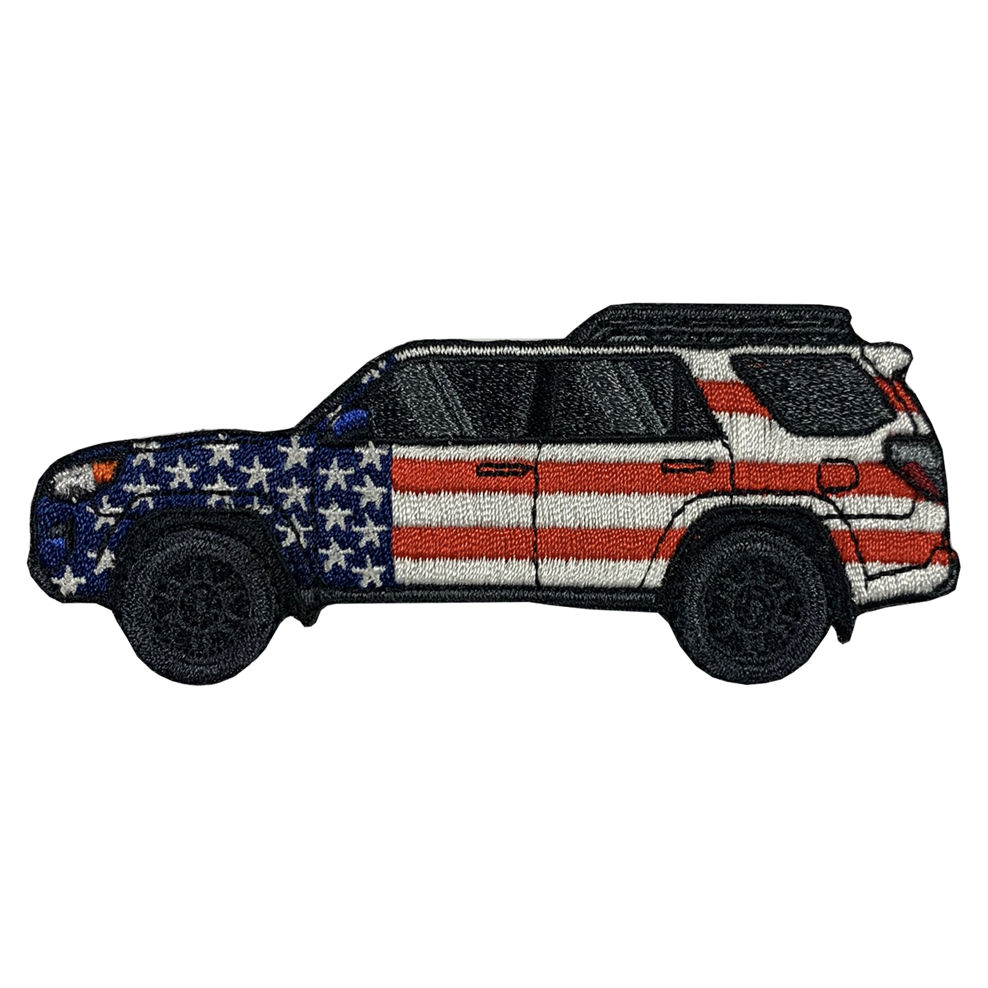4Runner TRD PRO Patriotic Patch