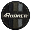 4Runner Black Camo Circle Patch