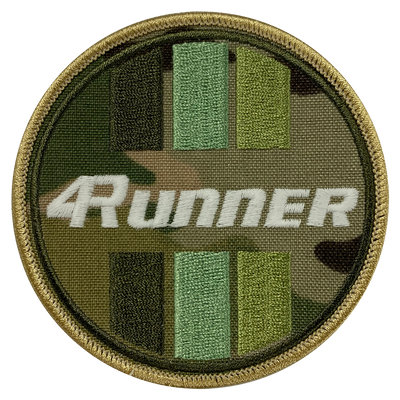 4Runner Camo Circle Patch