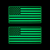 American Flag Glow Ranger Eyes Patches