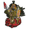 Greek God Ares Patch