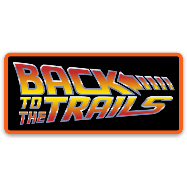 Back to the Trails Sticker