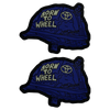Born to Wheel Blue Ranger Eyes Patches