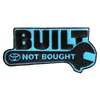 Built Not Bought Patch