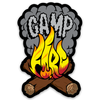 Camp Fire Sticker