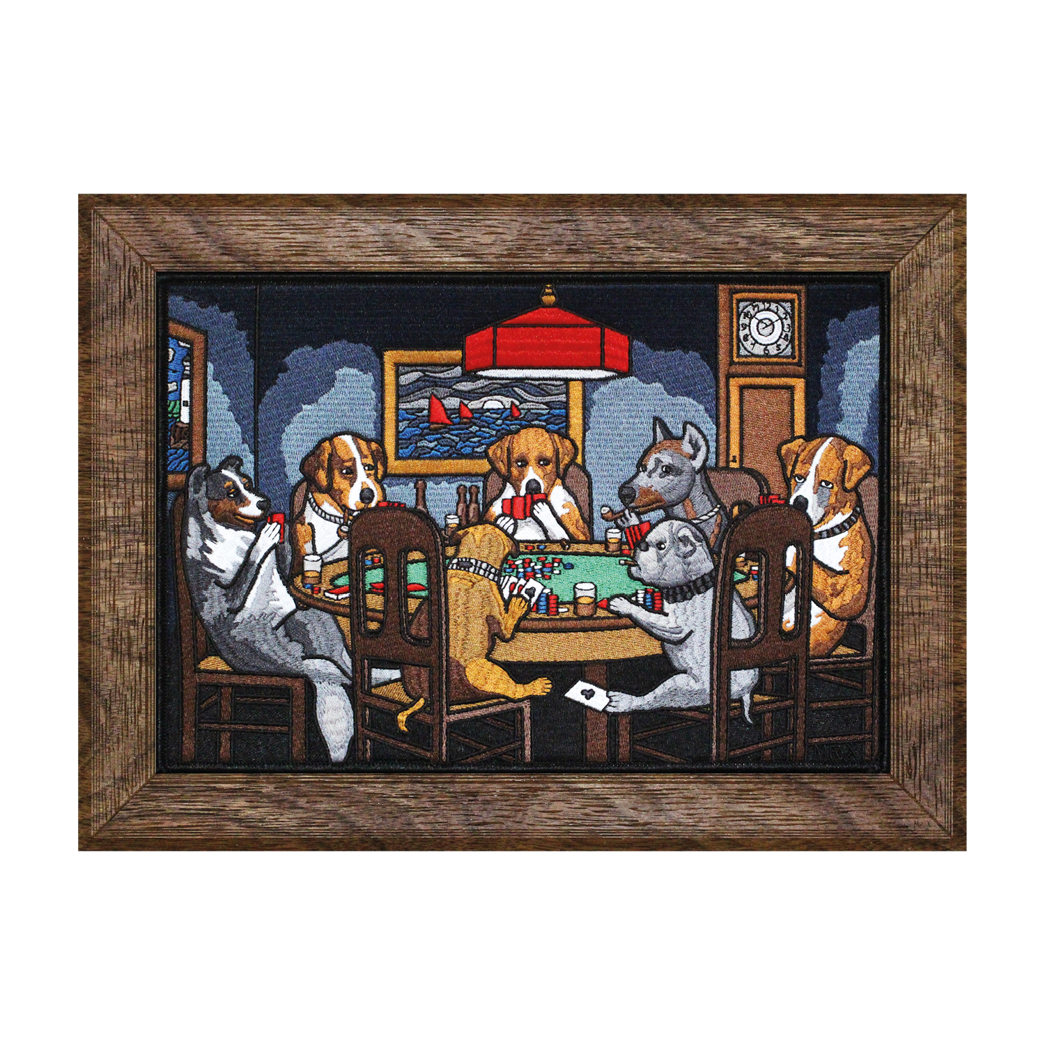 Dogs Playing Poker Mega Patch