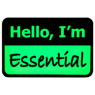 I'm Essential Badge
