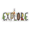 Explore v.Word Sticker