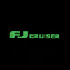 FJ Cruiser Black Name Tape Patch