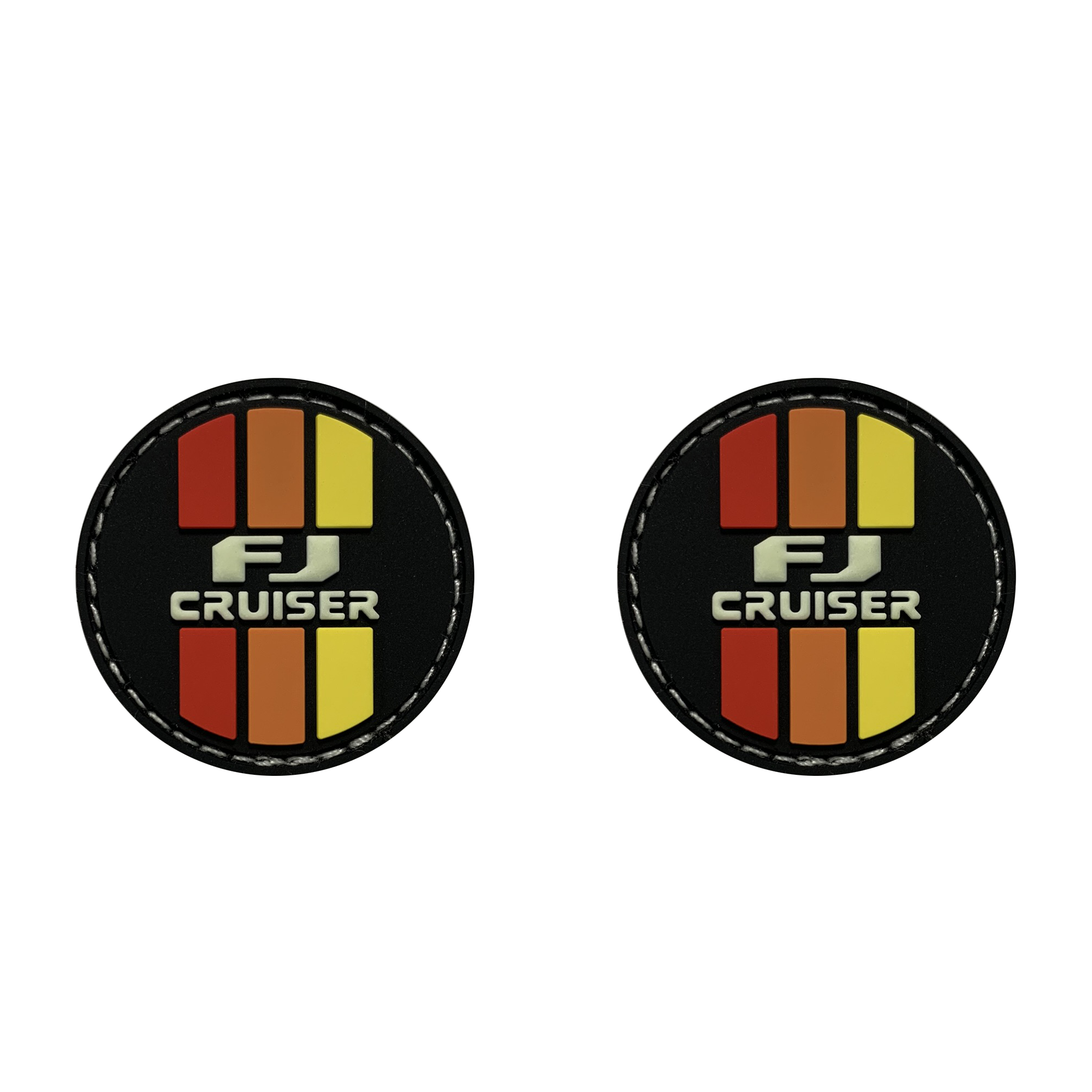 FJ Cruiser Retro Circle Ranger Eye Patches