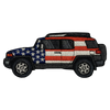 FJ Cruiser Patriotic Patch