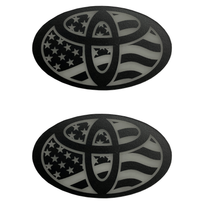 Flag Oval Ranger Eyes Patches