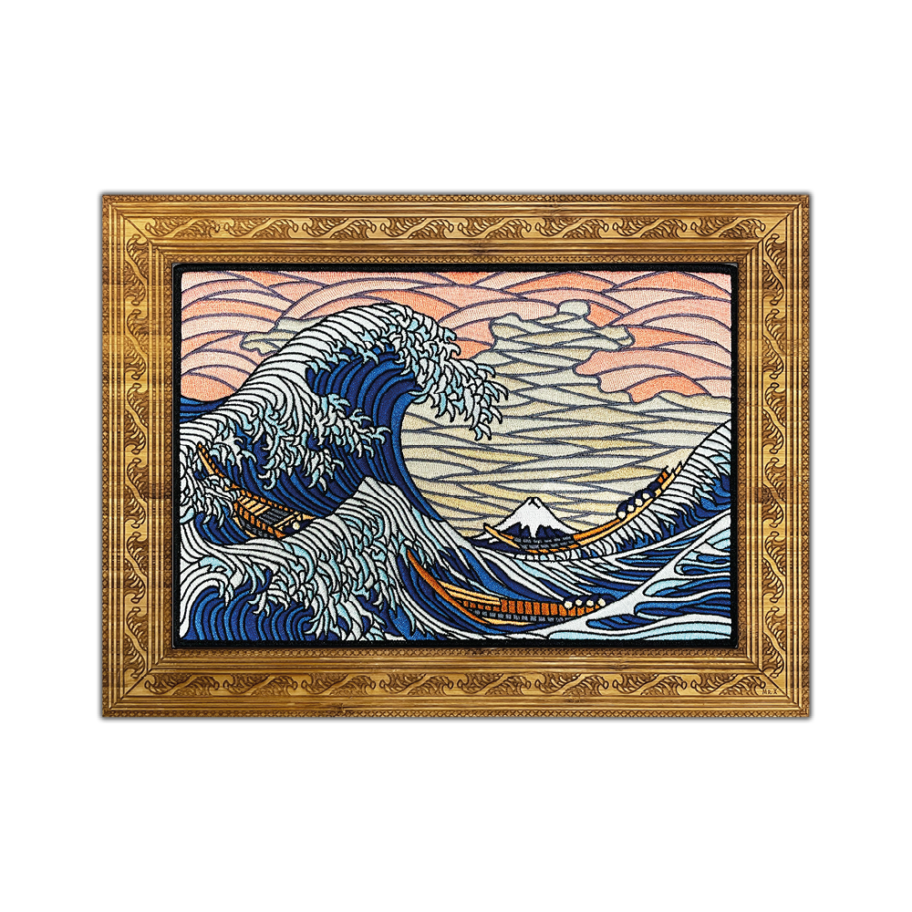 The Great Wave Off Kanagawa MEGA Patch