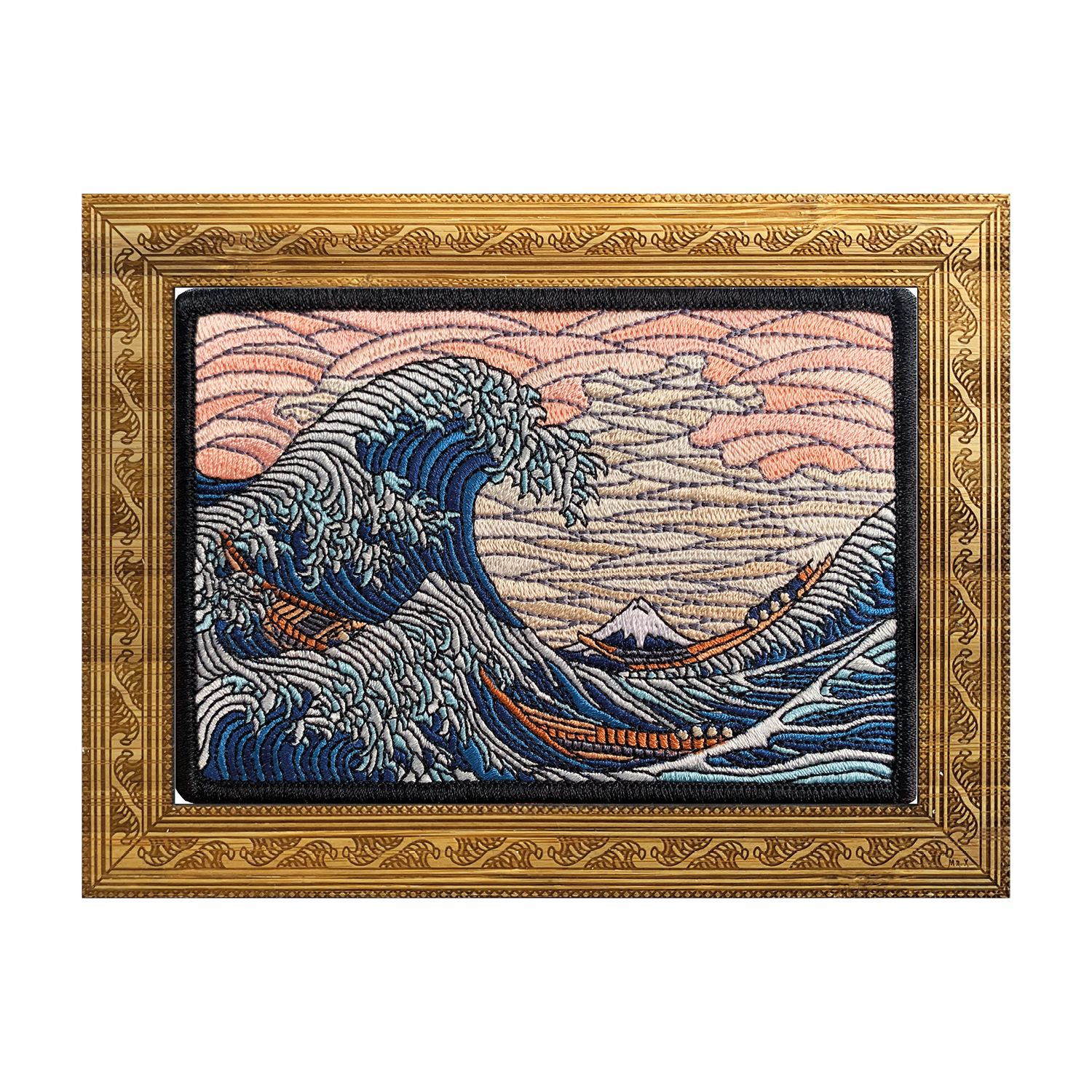 The Great Wave Off Kanagawa Patch