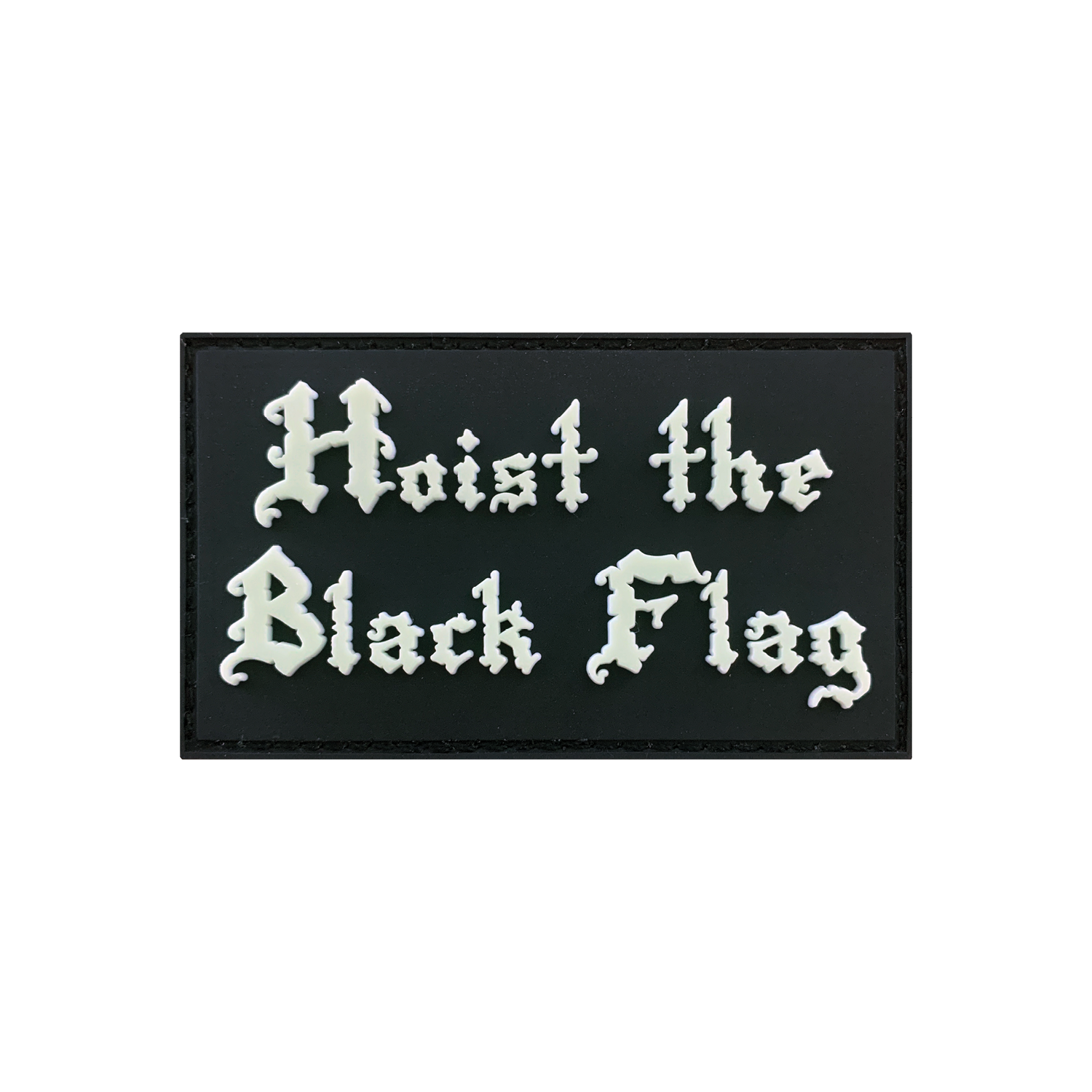 Hoist The Black Flag Patch