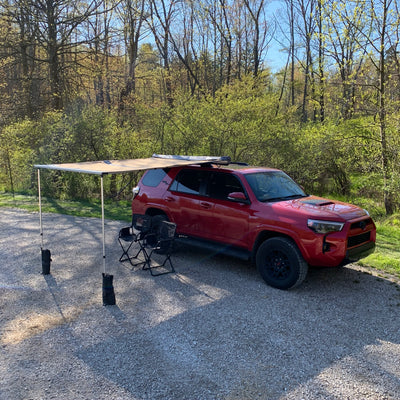 Awning Mount 4Runner Roof Rail