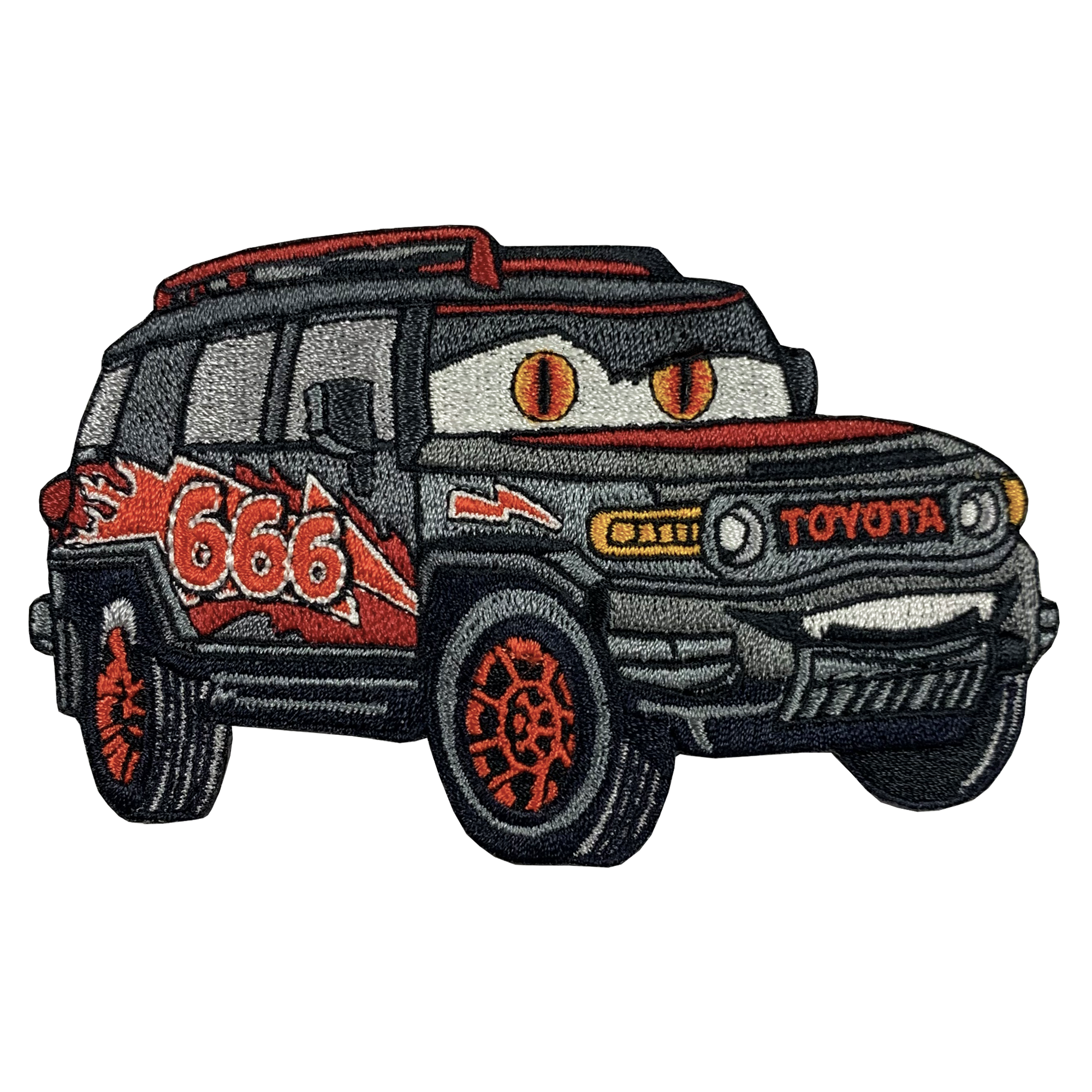 Lightning Demon FJ Cruiser Patch