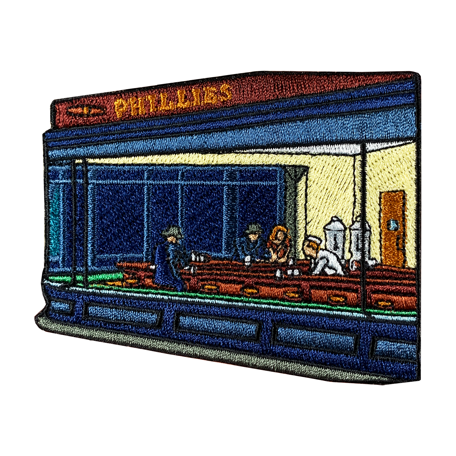 Nighthawks Character Patch