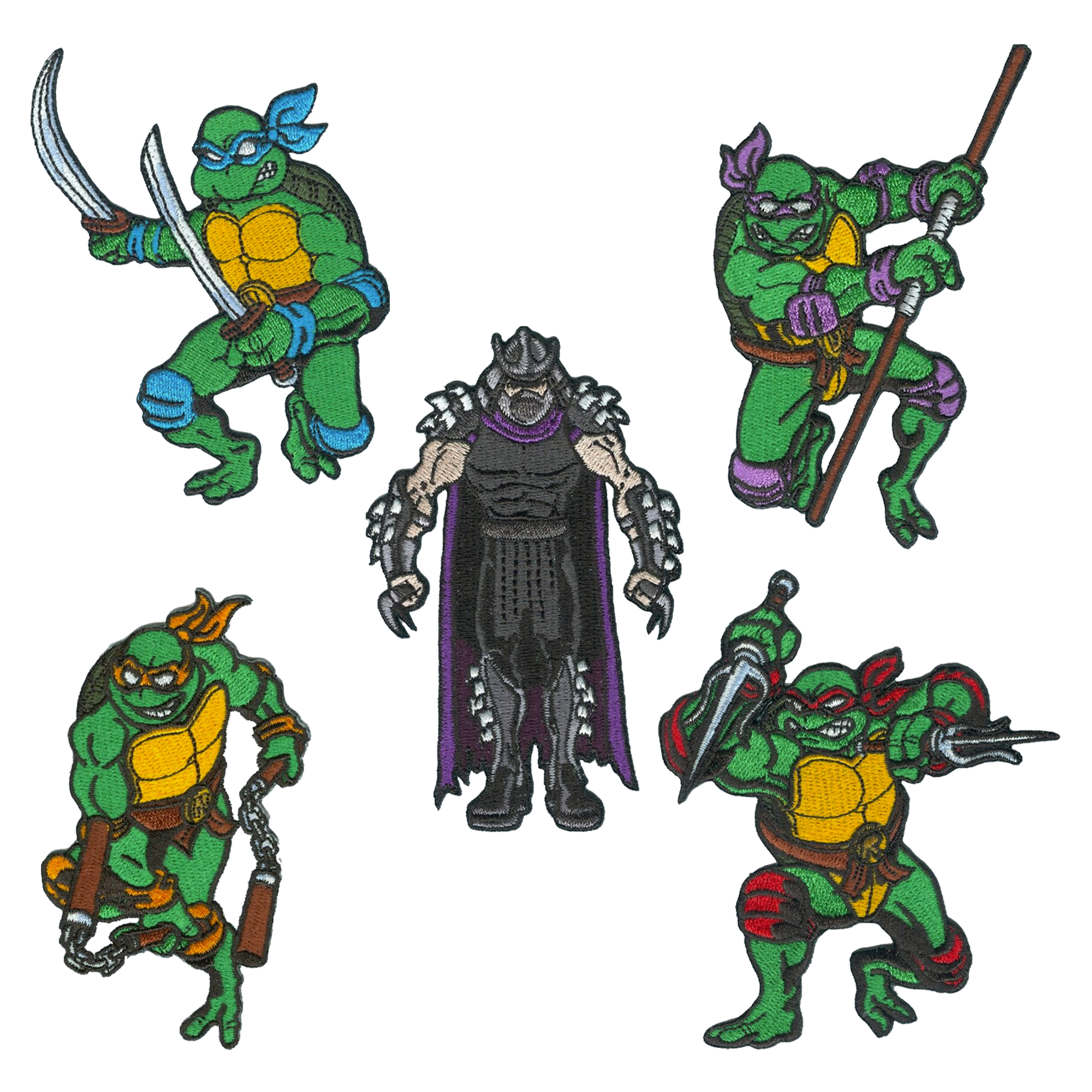 Ninja Turtles Patches