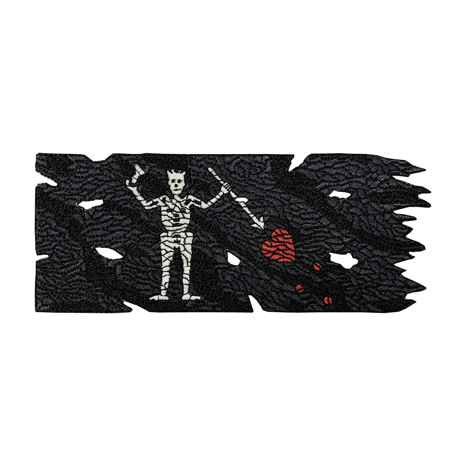 Blackbeard Pirate Flag [v2] Patch