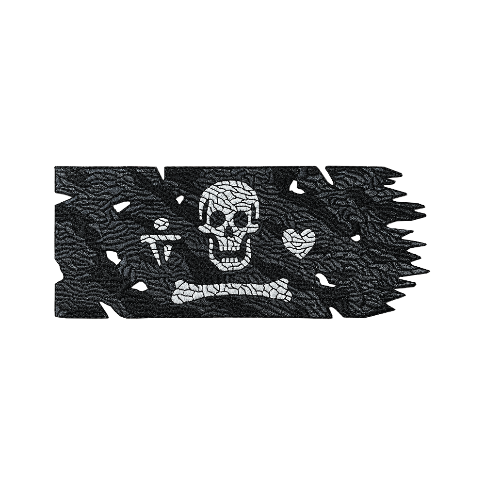 Stede Bonnet Pirate Flag [v6] Patch