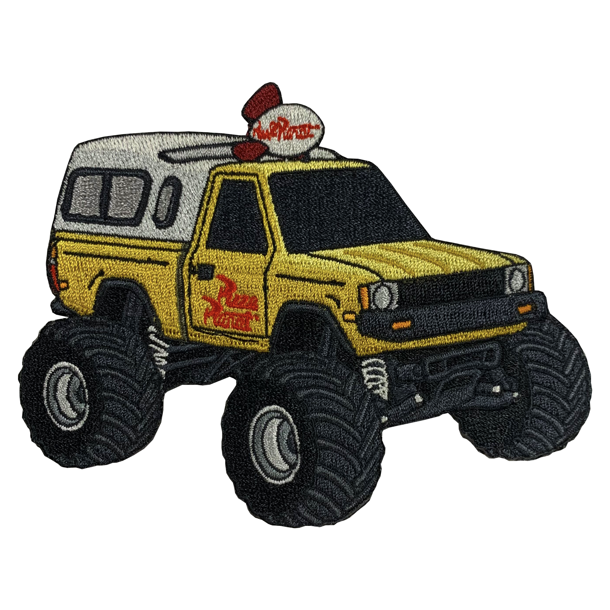 Pizza Planet Monster Truck Patch