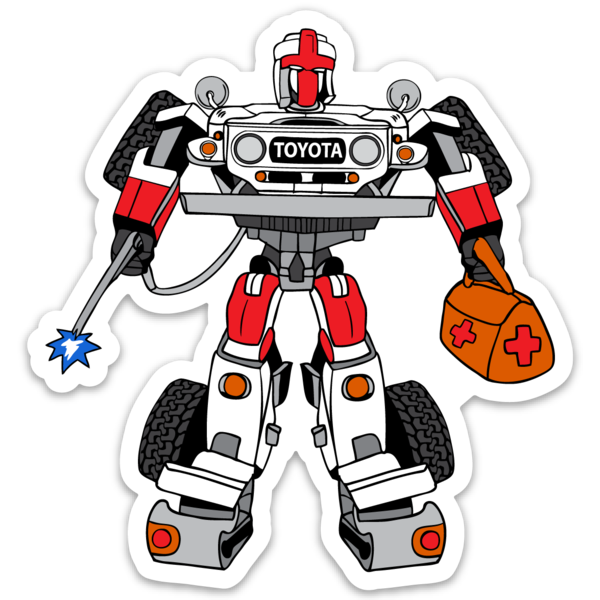 Robot FJ40 Sticker