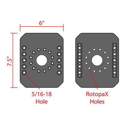 RotopaX Mount Tubular Clamps