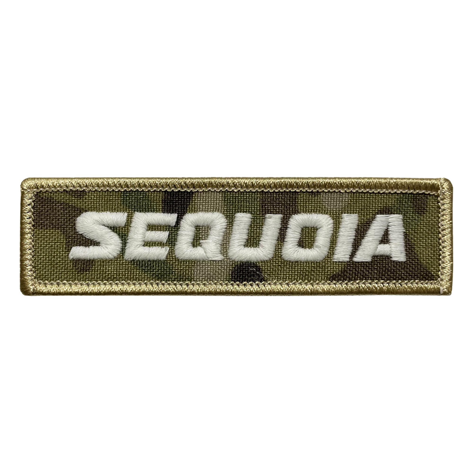 Sequoia Camo Name Tape Patch
