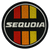 Sequoia Retro Circle Patch