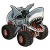 Shark Monster Truck