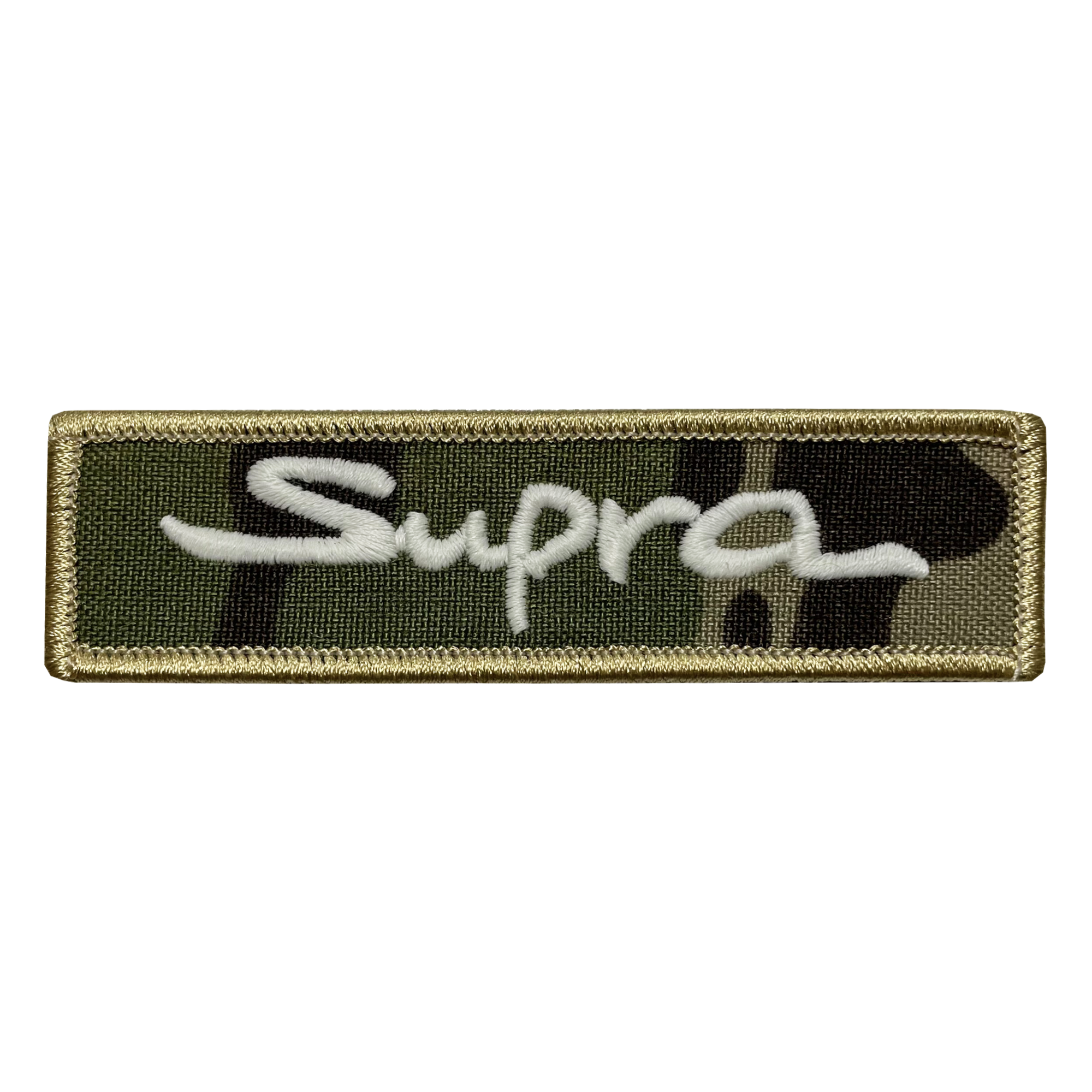 Supra Camo Name Tape Patch