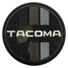 Tacoma Black Camo Circle Patch
