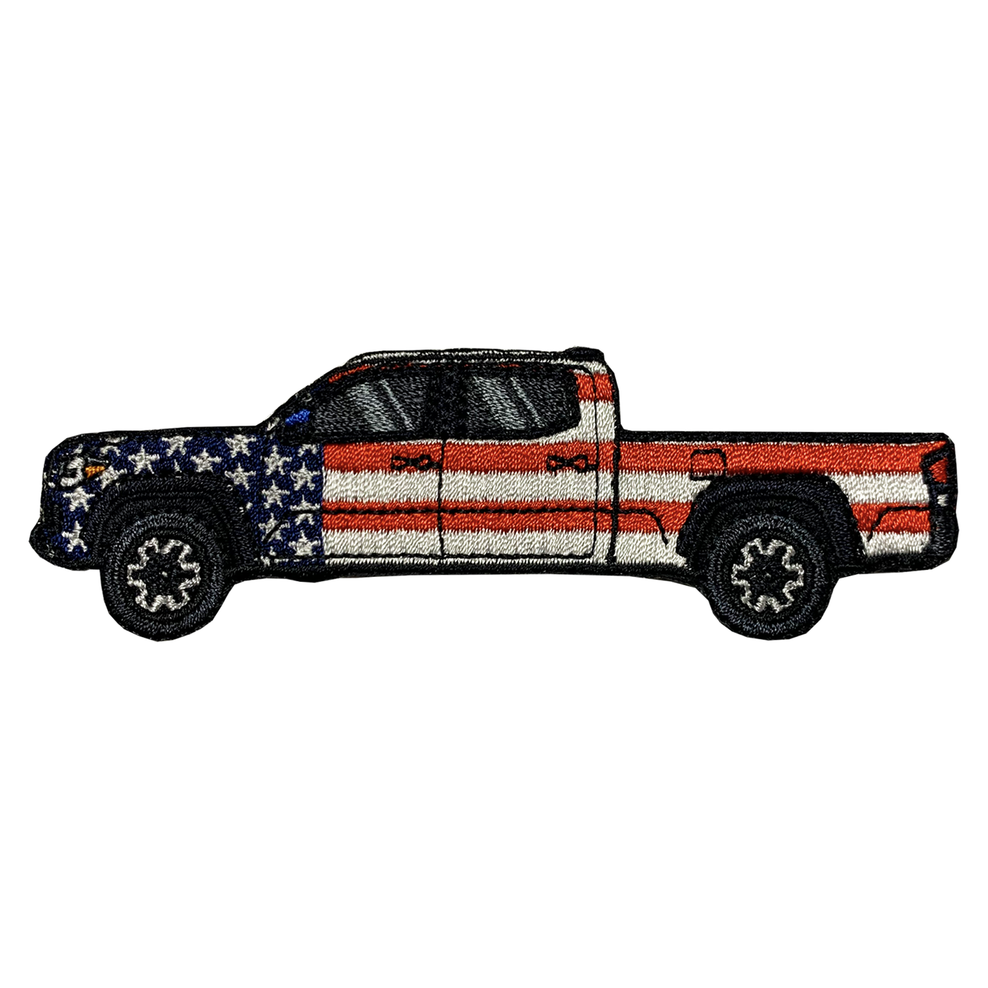 Tacoma Double Cab Long Bed Patriotic Patch