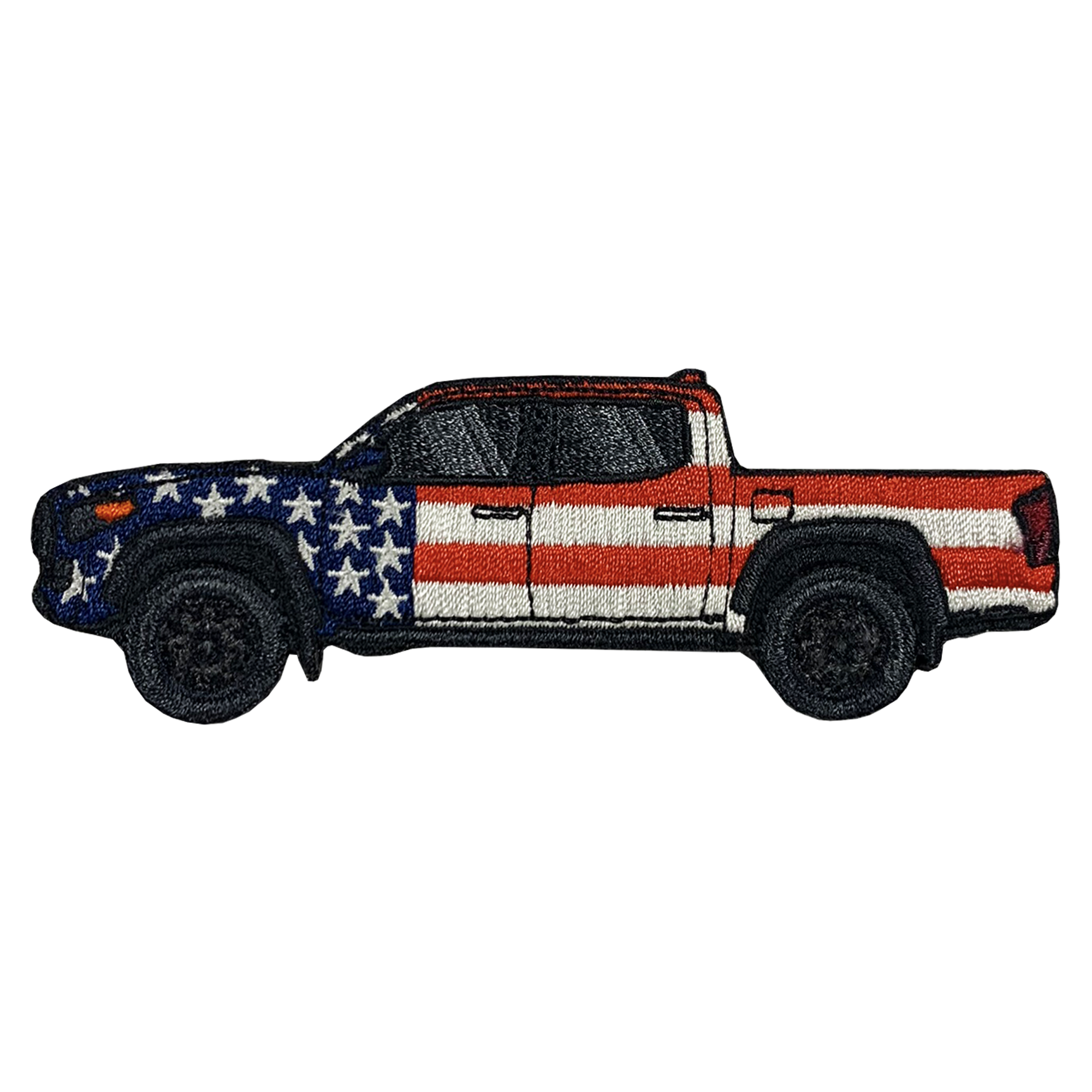 Tacoma Double Cab Short Bed Patriotic Patch