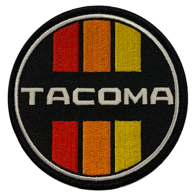 Tacoma Retro Circle Patch