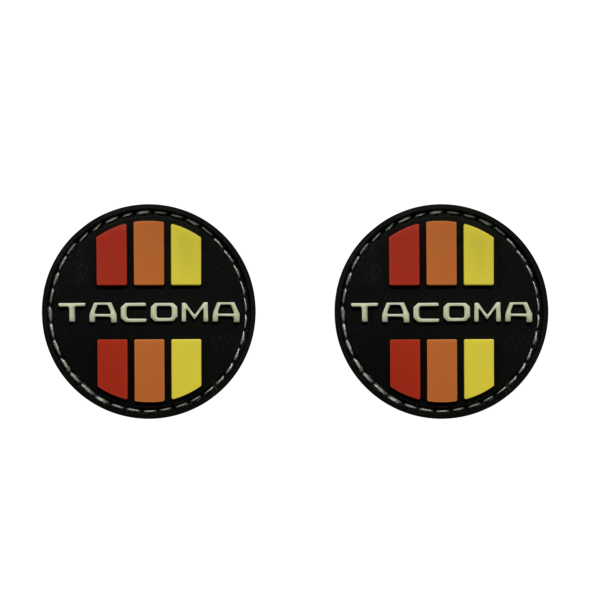 Tacoma Retro Circle Ranger Eye Patches