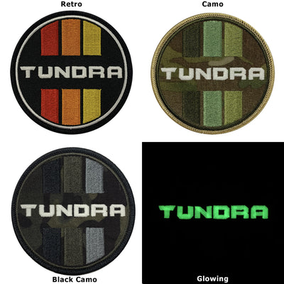 Tundra Camo Circle Patch